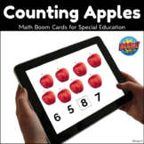 Boom Cards Counting Apples Distance Learning #dollardeal
