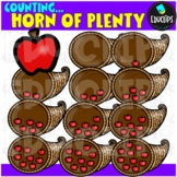 Counting Apples - Cornucopia Clip Art Bundle  {Educlips Clipart}