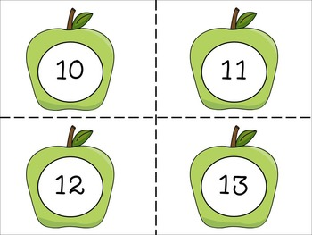 Counting Apples (Counting On and Back by 1s)