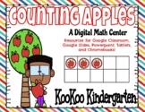 Counting Apples-Digital Math Center (Google Classroom & Di