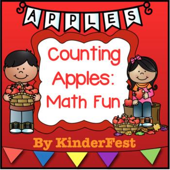 Counting Apples: Math Fun - Freebie!