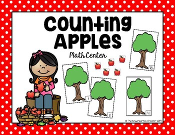 Counting Apples Math Station