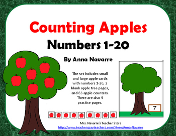 Counting Apples - Numbers 1-20
