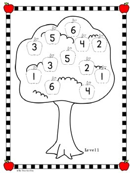Kindergarten  Number Identification-Simple addition - Counting Apples Game!