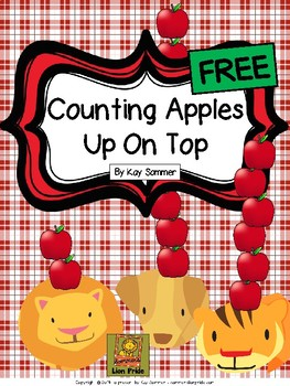Counting Apples Up On Top {FREE}