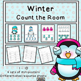 Winter Counting to 10 Count the Room