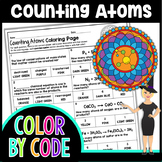 Counting Atoms Color By Number   Science Color By Number