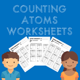 Counting Atoms Worksheets