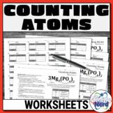 Counting Atoms Worksheets   Printable and Digital