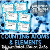 Counting Atoms and Elements Student-Led Station Lab