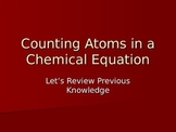 Counting Atoms in a Chemical Equation