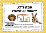 Counting Australian Money- A Beginner's Activity
