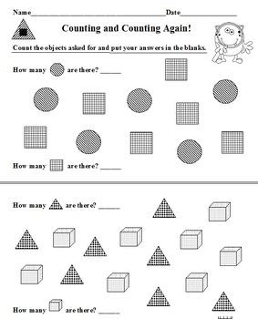 Counting BUNDLE 14 Worksheets