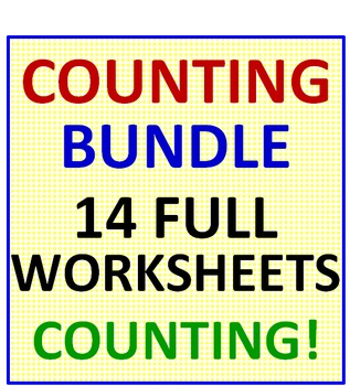 Counting BUNDLE 14 Worksheets