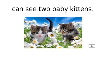 Counting Baby Animals in Spring Ebook with Song