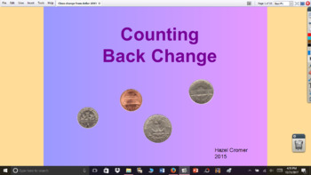 Counting Back Change from $1.00