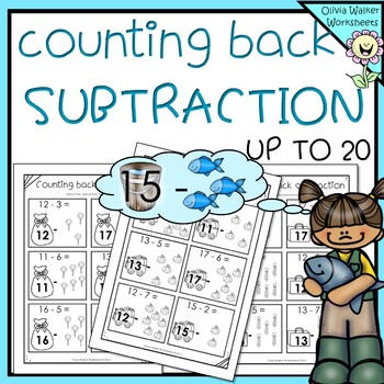 Counting Back - Subtraction Strategy - Subtraction up to 2