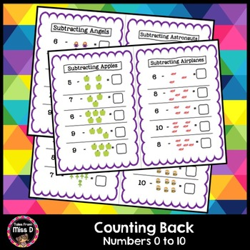 Counting Back - Subtraction
