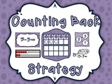 Counting Back Subtraction Strategy Resources
