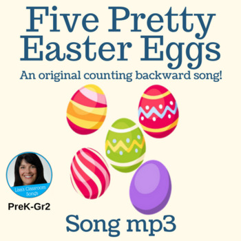 """Counting Backward Easter Song   """"Five Pretty Easter Eggs""""   Song mp3"""