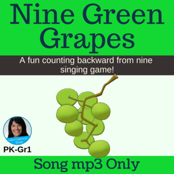 "Counting Backward/Letter G Song | ""Nine Green Grapes"" 