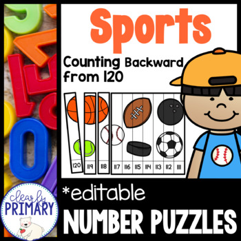 Counting Backward from 120: Sports Number Puzzles