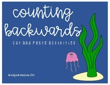 Counting Backwards Cut and Paste with Ocean Animals