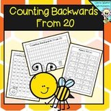 Counting Backwards From 20 - Twenty -  Worksheets and Printables