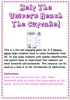 Counting Backwards Game