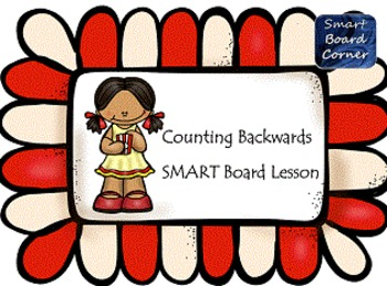 Counting Backwards SMART Board Lesson