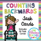 Counting Backwards Task Cards