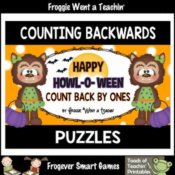 "Counting Backwards by Ones--Number Sequencing Puzzles ""Hap"
