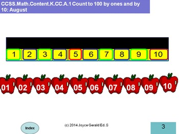 Counting Backwards from 10
