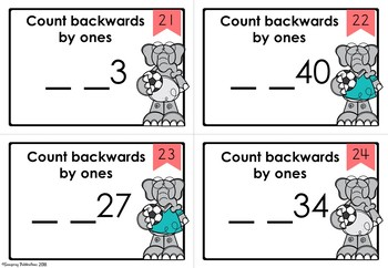 Counting Backwards from 50