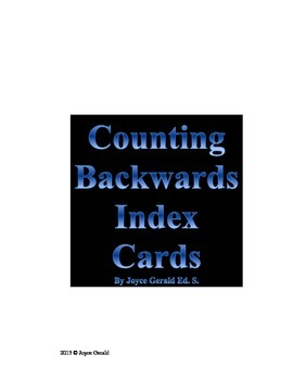 Counting Backwards from any given number between 1 and 1000