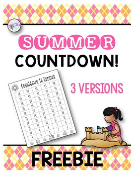 Counting Backwards to Summer
