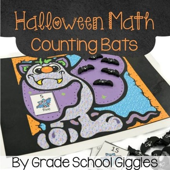 Halloween Math: Counting Bats Activity