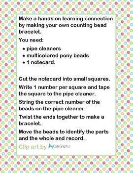 Counting Bead Bracelets