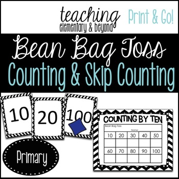 Learn to Count: Bean Bag Toss