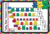Counting Bear Family Pattern Cards