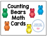 Counting Bear Math Cards