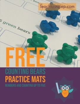 Counting Bear Mats 1-10