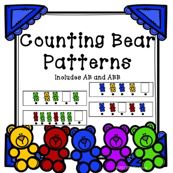 Counting Bear Pattern Strips