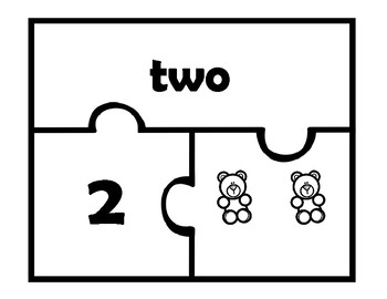 Counting Bear Puzzles
