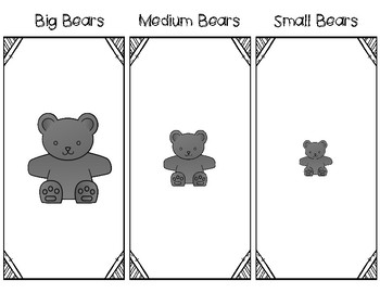 Counting Bear Sorting Mat