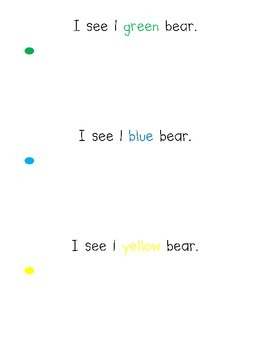 Counting Bears 1-10