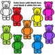 Counting Bears Clip Art | Candy Bears