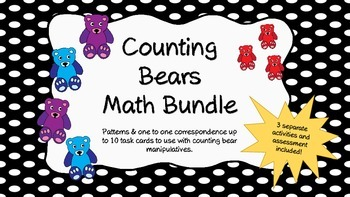 Counting Bears Activities Bundle