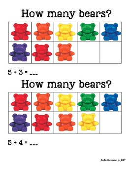 Counting Bears Addition