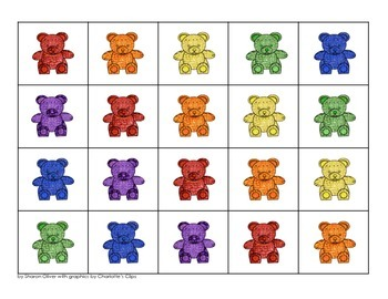 Counting Bears Grid Games